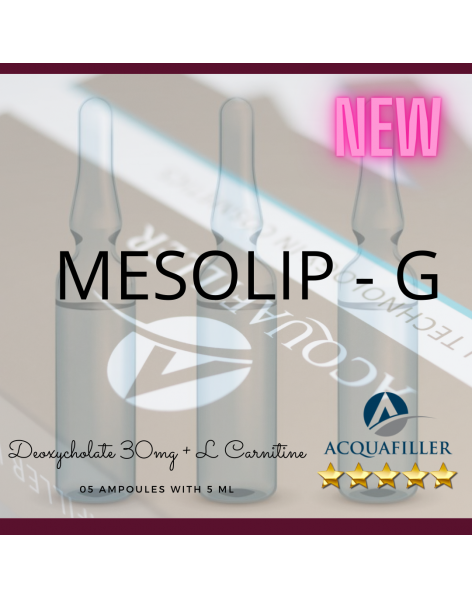 MESOLIP - G - Deoxycholate 30mg + L Carnitine 5 x 5ml